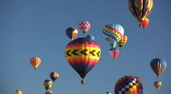 Stock Video Footage of Albuquerque International Balloon Fiesta