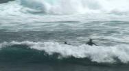 Surfers Stock Footage