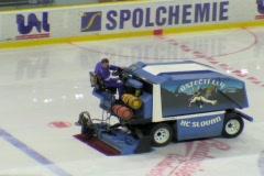 Ice resurfacing machine Stock Footage