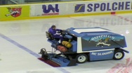 Stock Video Footage of Ice resurfacing machine