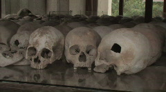 Cambodia: Skulls from the Killing Fields - stock footage