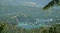 Puerto Galera on Oriental mindoro in the Philippines Stock Footage