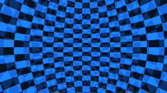 Abstract Blue and Black Stock Footage