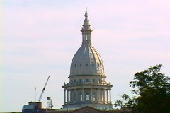 Michigan State Capitol 02 Stock Footage