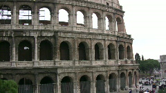Stock Video Footage of The Coliseum in Rome