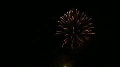 Firework 06 Stock Footage