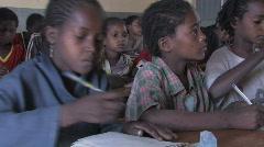 Stock Video Footage of Ethiopia: Girl in School