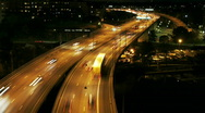 Stock Video Footage of  Traffic on Freeway