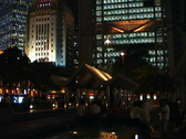 Stock Video Footage of Central Hong Kong at night