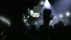 Concert Area 2 of 3 HD Stock Footage