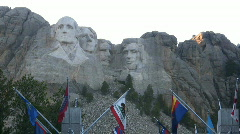 Mt. Rushmore National Monument Stock Footage