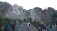 Stock Video Footage of Mt. Rushmore National Monument
