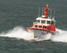 Sea rescue (Germany) Stock Footage