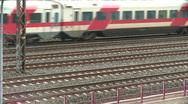 Train traffic 2 Stock Footage