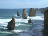 Stock Video Footage of The twelve apostles