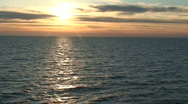 Stock Video Footage of Sunset from the cruise ship 9