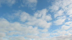 Midday clouds time-lapse 26 Stock Footage