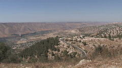 Jordan: Golan Heights - stock footage