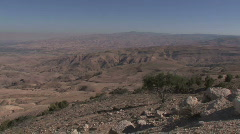 View from Mt. Nebo - stock footage