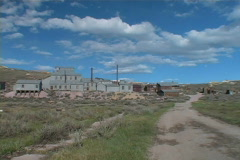 Ghost Town (Bodie) Stock Footage