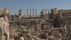 Ruins of Qasr al-Abd Stock Footage