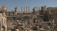 Stock Video Footage of Jordan: Ruins of Qasr al-Abd