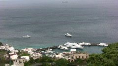 Isle of Capri Stock Footage