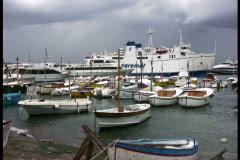 Isle of Capri marina Stock Footage