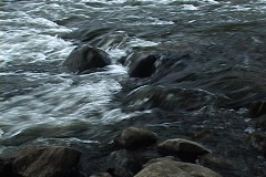 Huron River watershed Stock Footage
