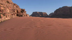 Jordan: Wadi Rum - stock footage