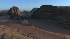 Jordan: Wadi Rum Stock Footage