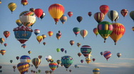 Stock Video Footage of Editorial: Hot Air Balloons