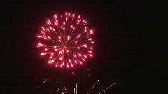 November 5th fireworks Stock Footage