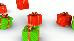 Lot of Gifts  Stock Footage