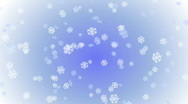 Stock Video Footage of Snowflakes - Seamless Loop