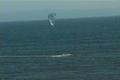 Parasurfing Stock Footage