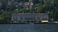 Stock Video Footage of Cernobbio villa Este 02