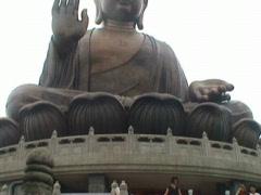 Giant Buddha (Hong Kong) Stock Footage