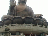 Stock Video Footage of Giant Buddha (Hong Kong)