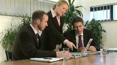 Business On the Go Stock Footage