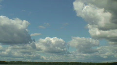 Midday clouds time-lapse 15 - stock footage