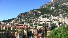 Monte carlo urban scenery Stock Footage