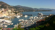 Scenery from Monte Carlo Stock Footage