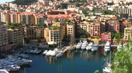 Monte Carlo scenery Stock Footage
