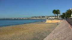 French Riviera scenery - stock footage