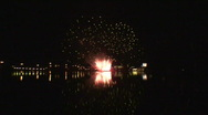 Stock Video Footage of Fireworks show a3