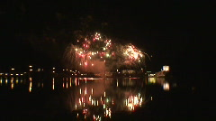Fireworks show a5 Stock Footage