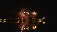Stock Video Footage of Fireworks show a5