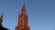 Stock Video Footage of Germany Munich New town hall Rathaus