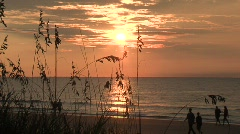 Beach Sunrise 6 Stock Footage